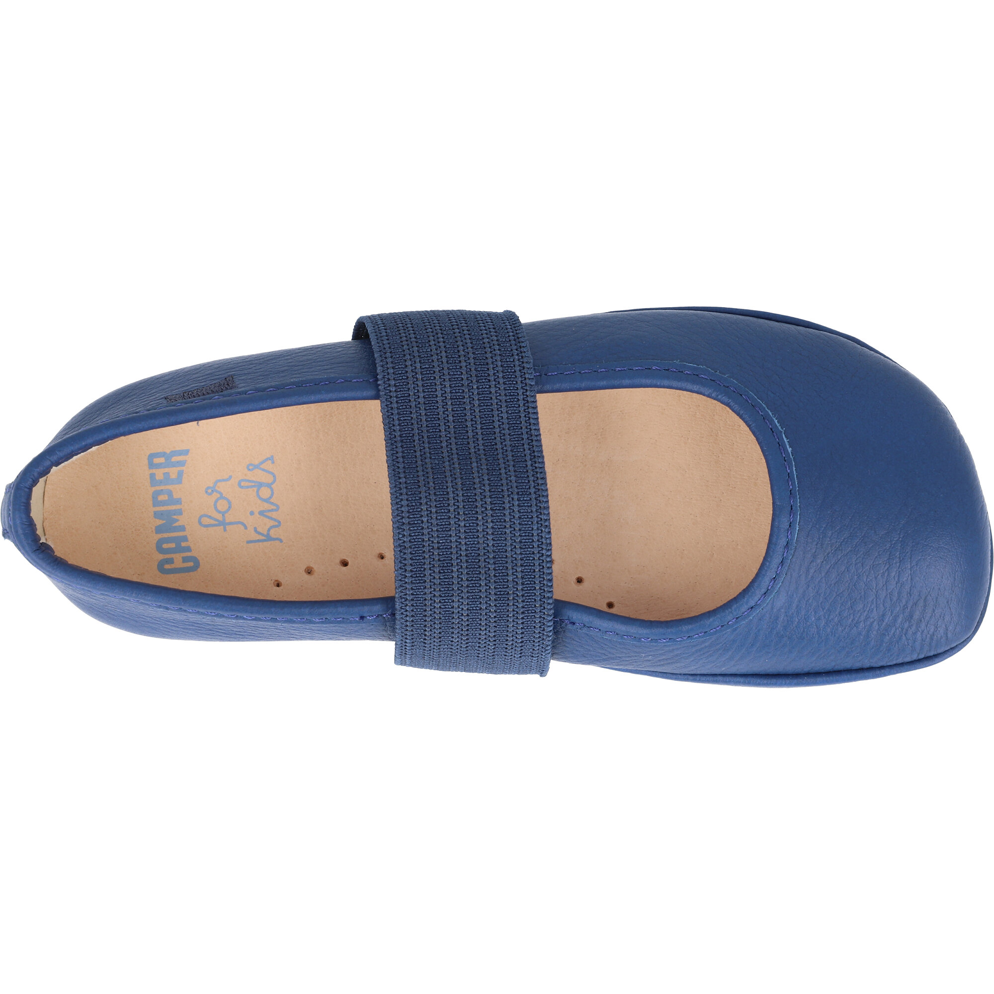 Camper Kids Right Navy Leather