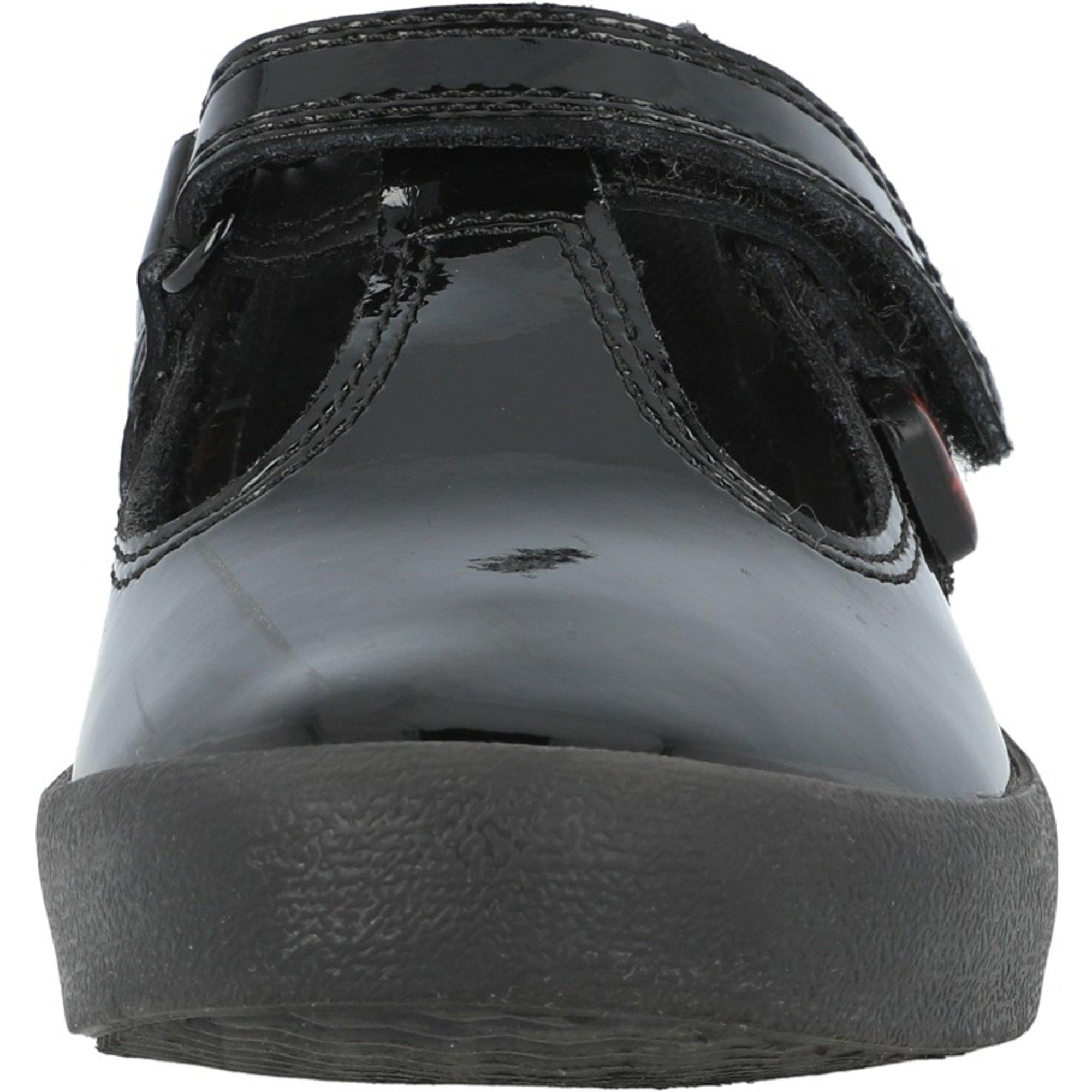 Kickers Kariko T-Strap I Black Patent Leather