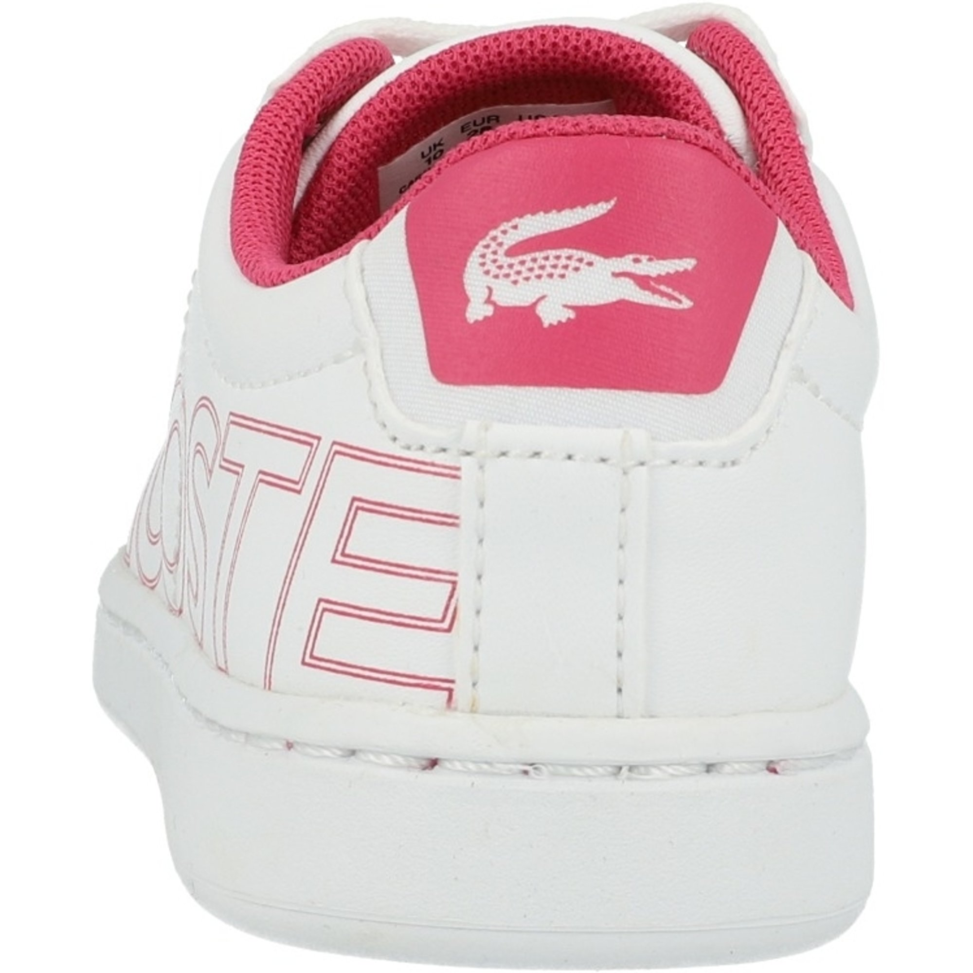 Lacoste Carnaby Evo 219 1 White/Dark Pink Synthetic