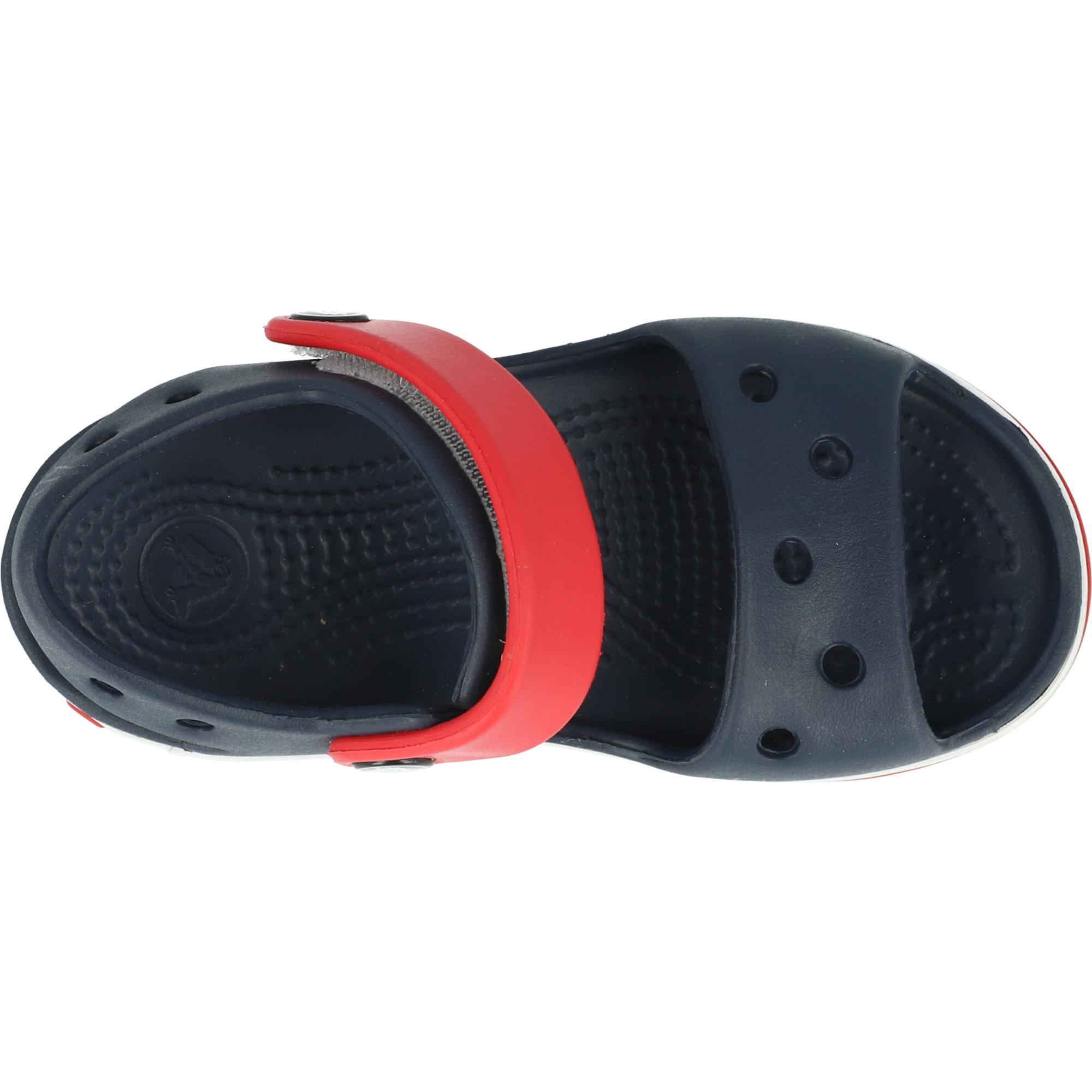 Crocs Kids Crocband Sandal Navy/Red Croslite