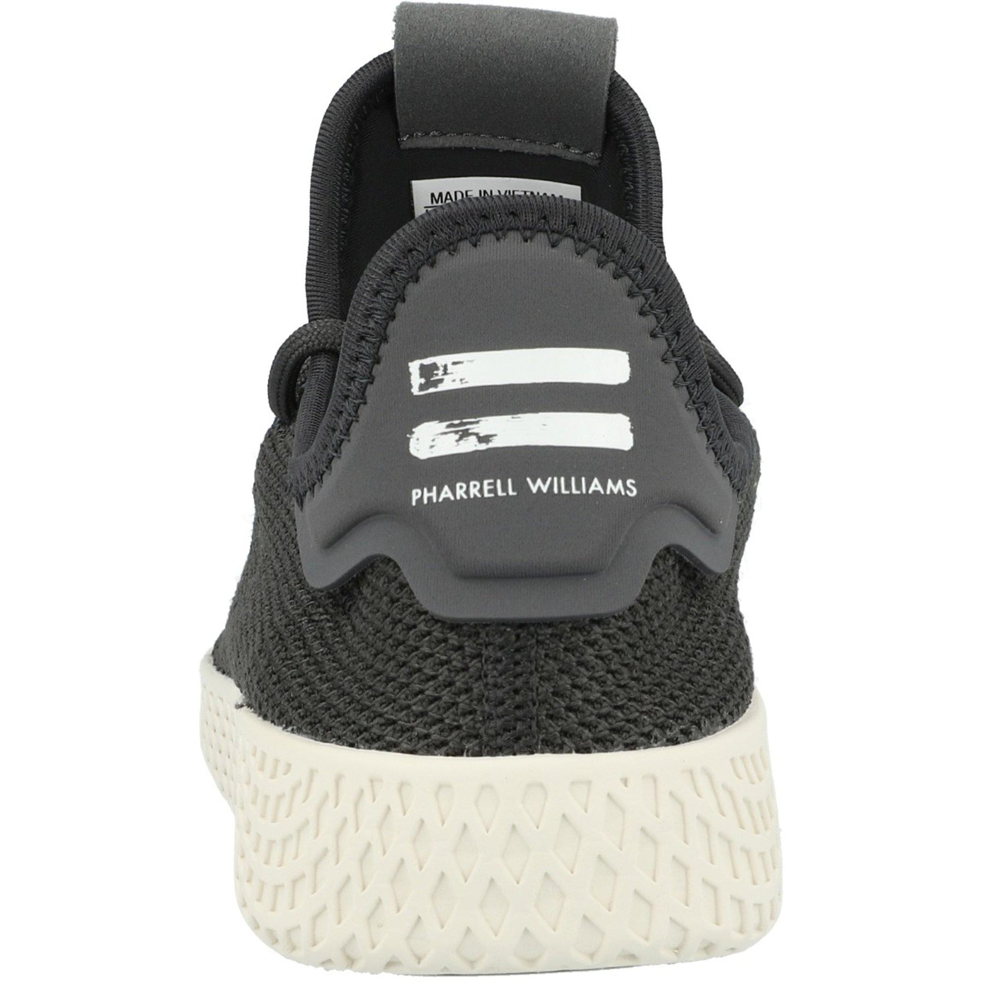 código postal en progreso Sollozos  adidas Originals Pharrell Williams Tennis Hu J Carbon Textile - Trainers  Shoes - Awesome Shoes