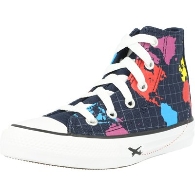 Chuck Taylor All Star Geography Class Hi Junior childrens shoes