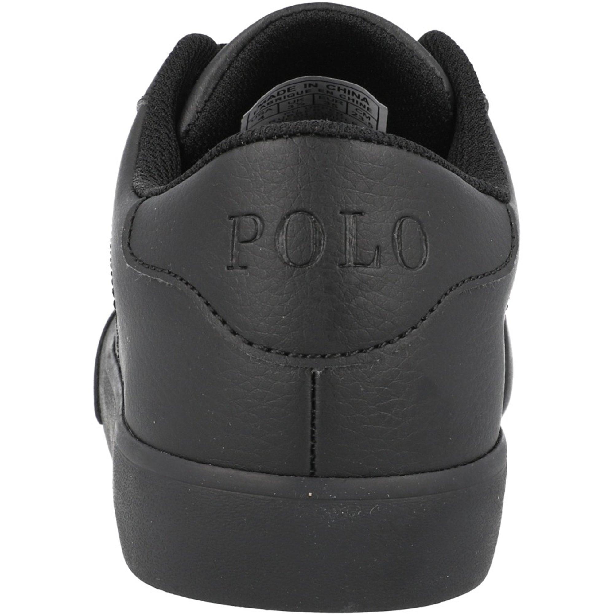 Polo Ralph Lauren Theron III J Triple Black Tumbled