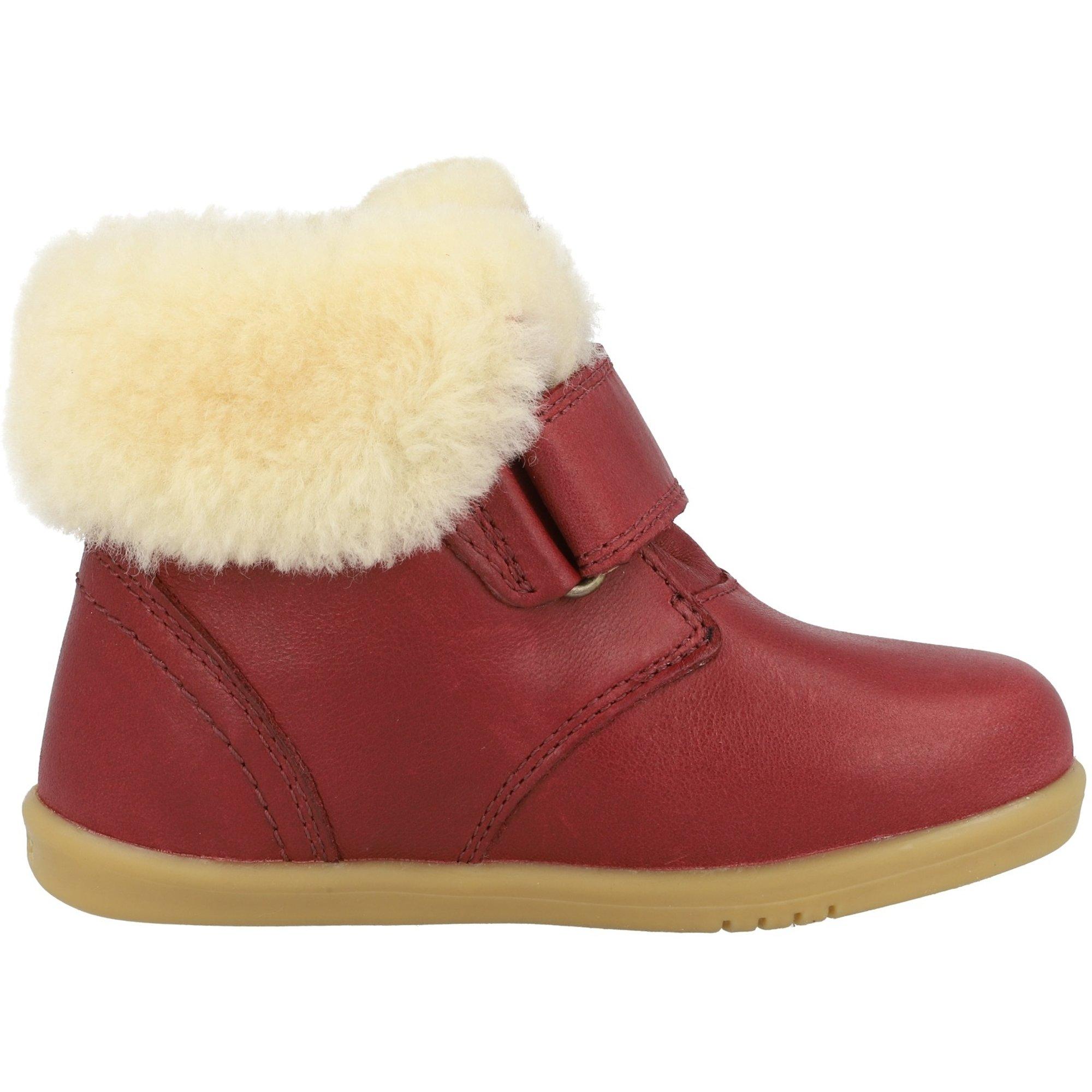 Bobux i-Walk Desert Arctic Sherbet Quickdry Vintage-Look Leather