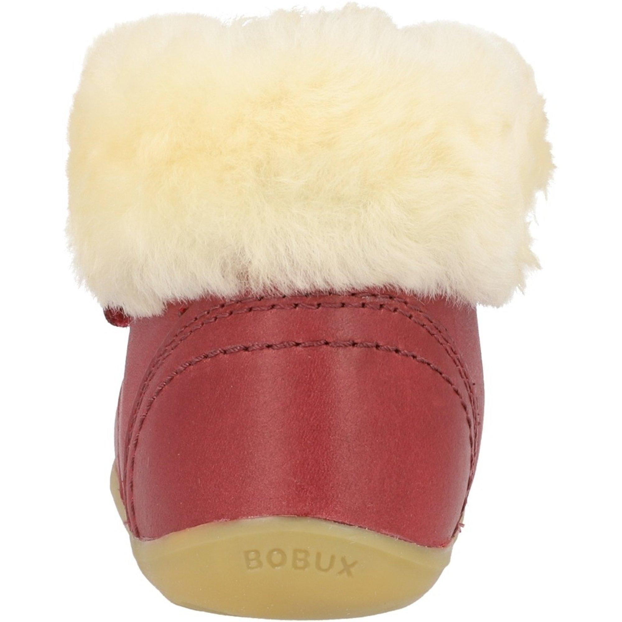Bobux Step Up Desert Arctic Sherbet Quickdry Vintage-Look Leather
