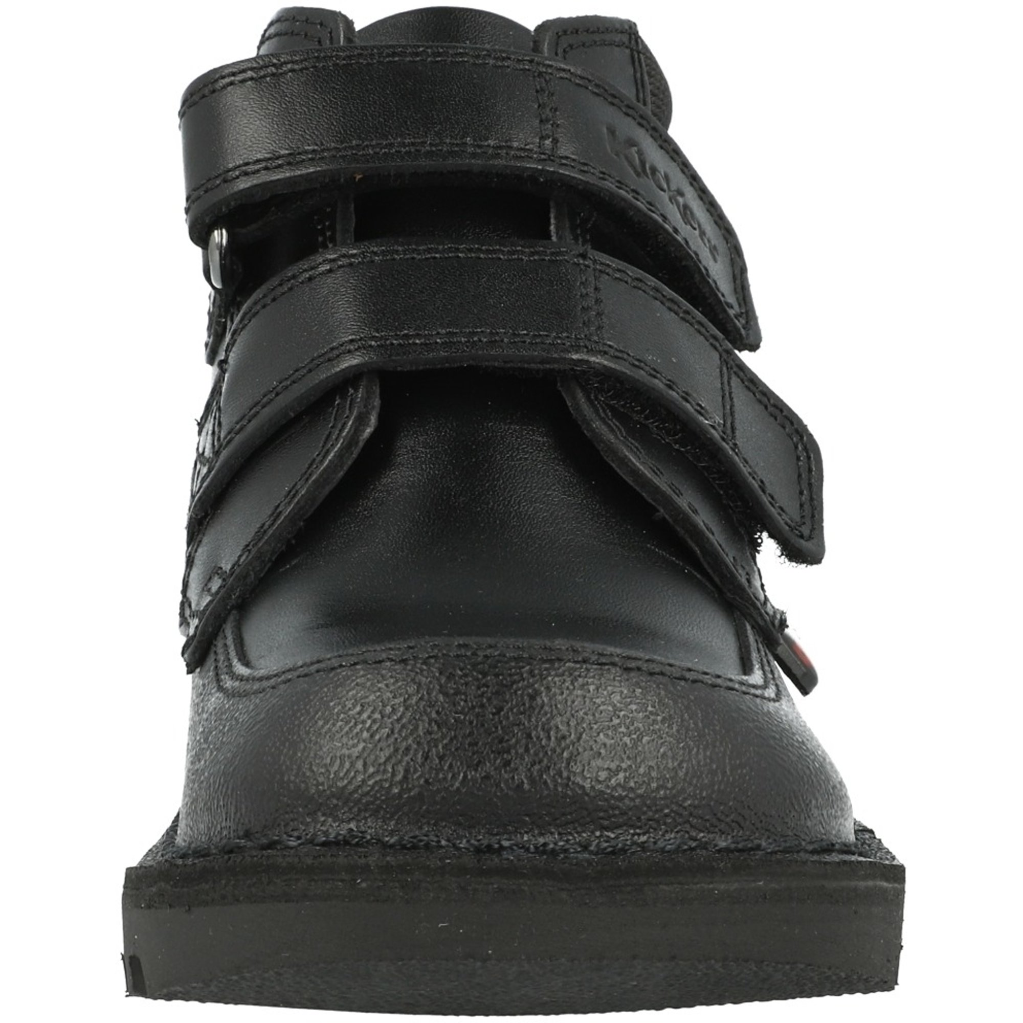 Kickers Kick Scuff Hi Black Leather