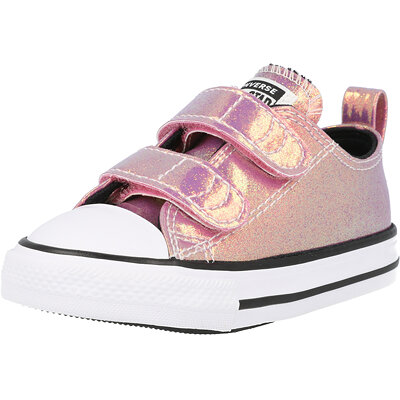 Chuck Taylor All Star 2V Ox Iridescent Glitter Infant childrens shoes