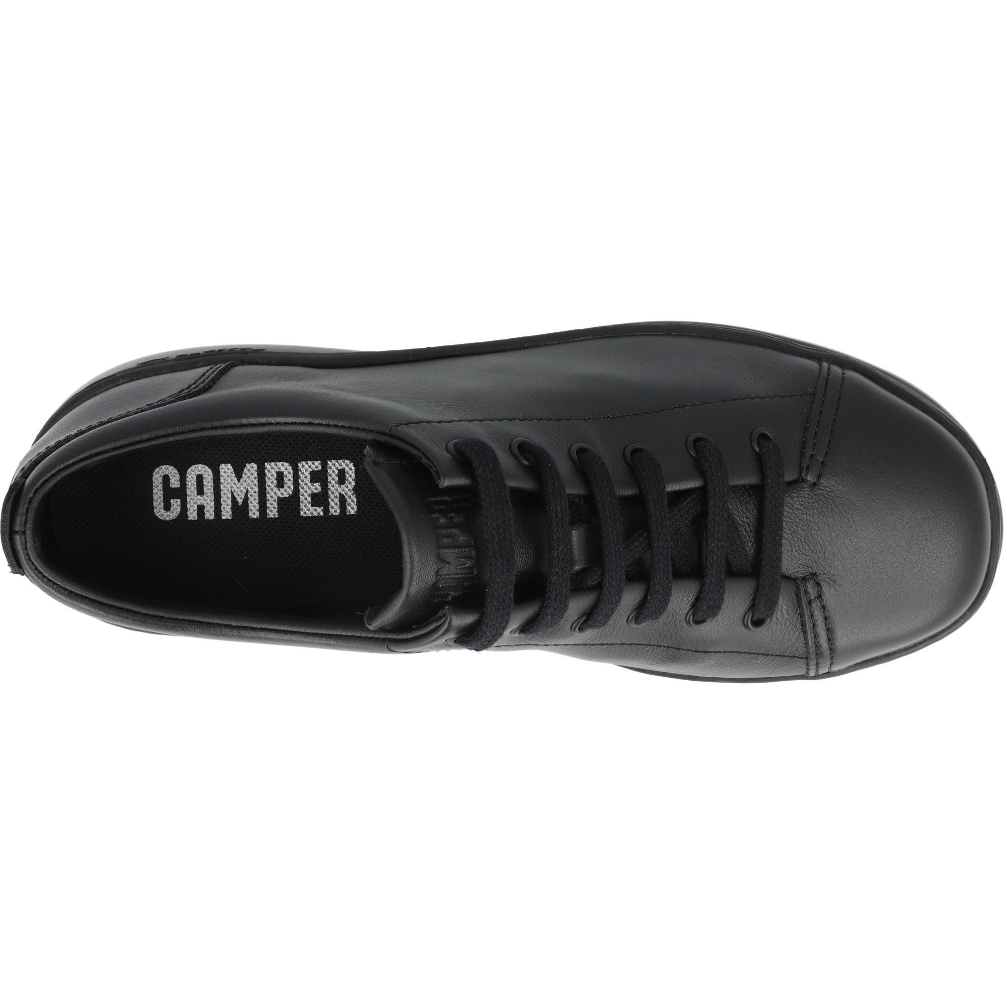 Camper Runner Up Black Leather