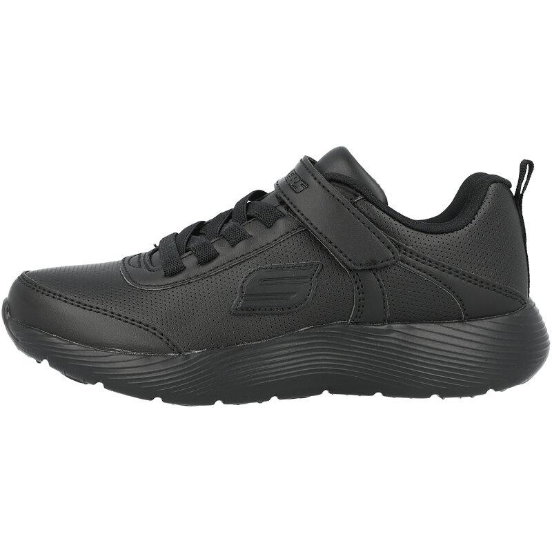 Skechers Dyna-Lite School Sprints Black Duraleather