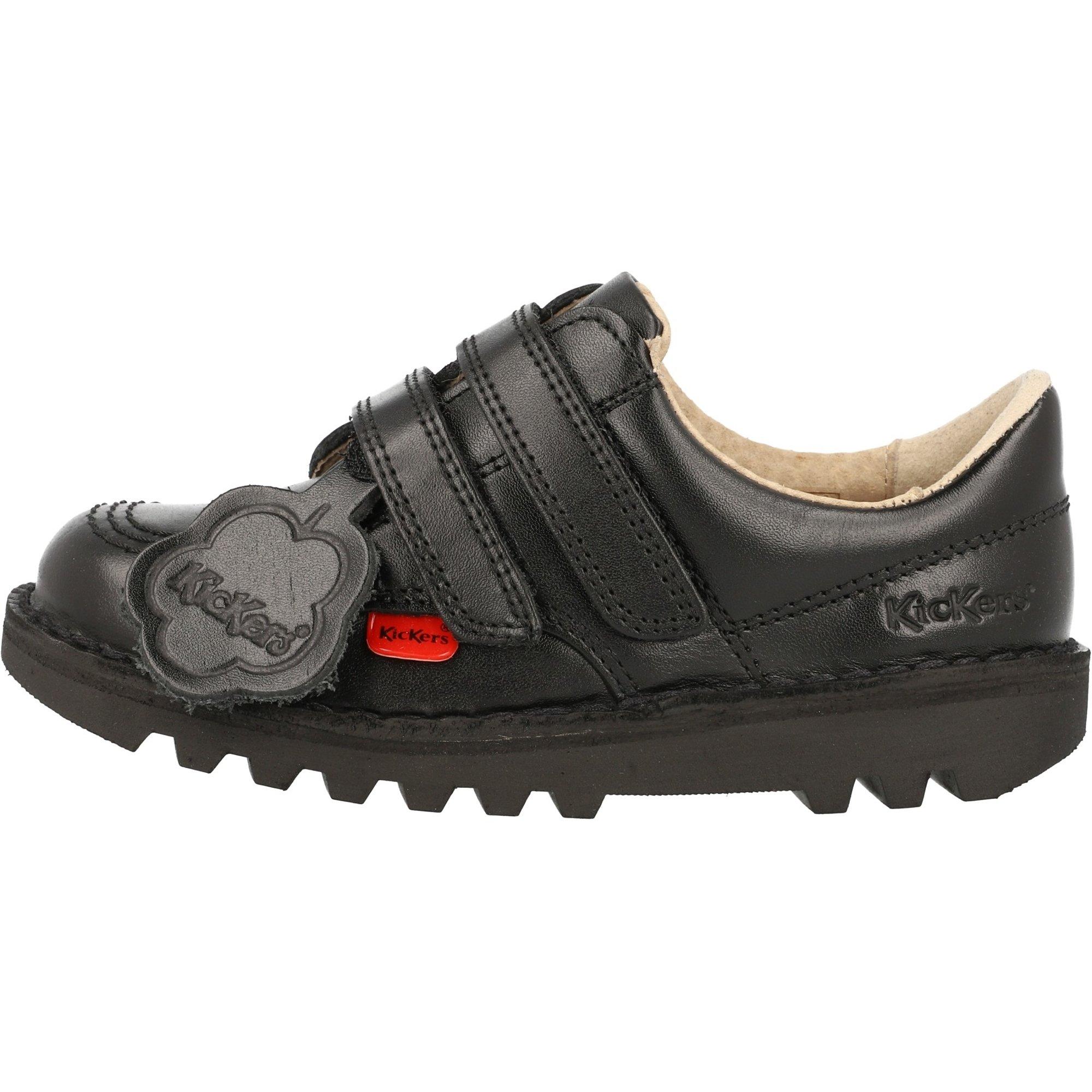 Kickers Kick Lo Vel I Black Leather 24