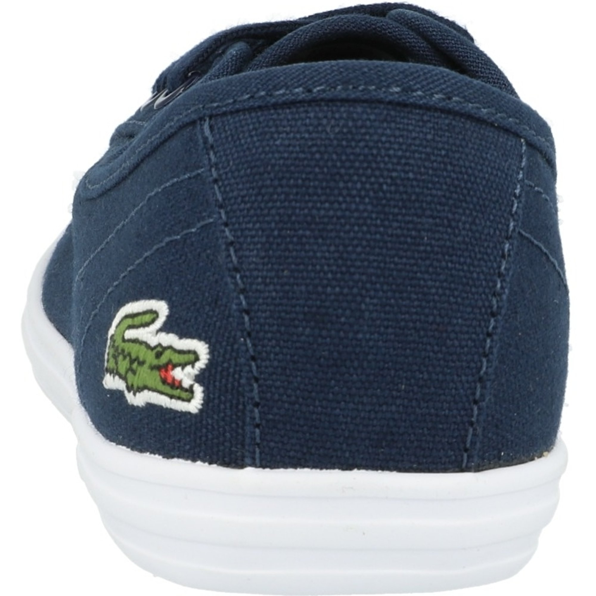 Womens Lacoste Ziane Bl Leather Trainers In Navy