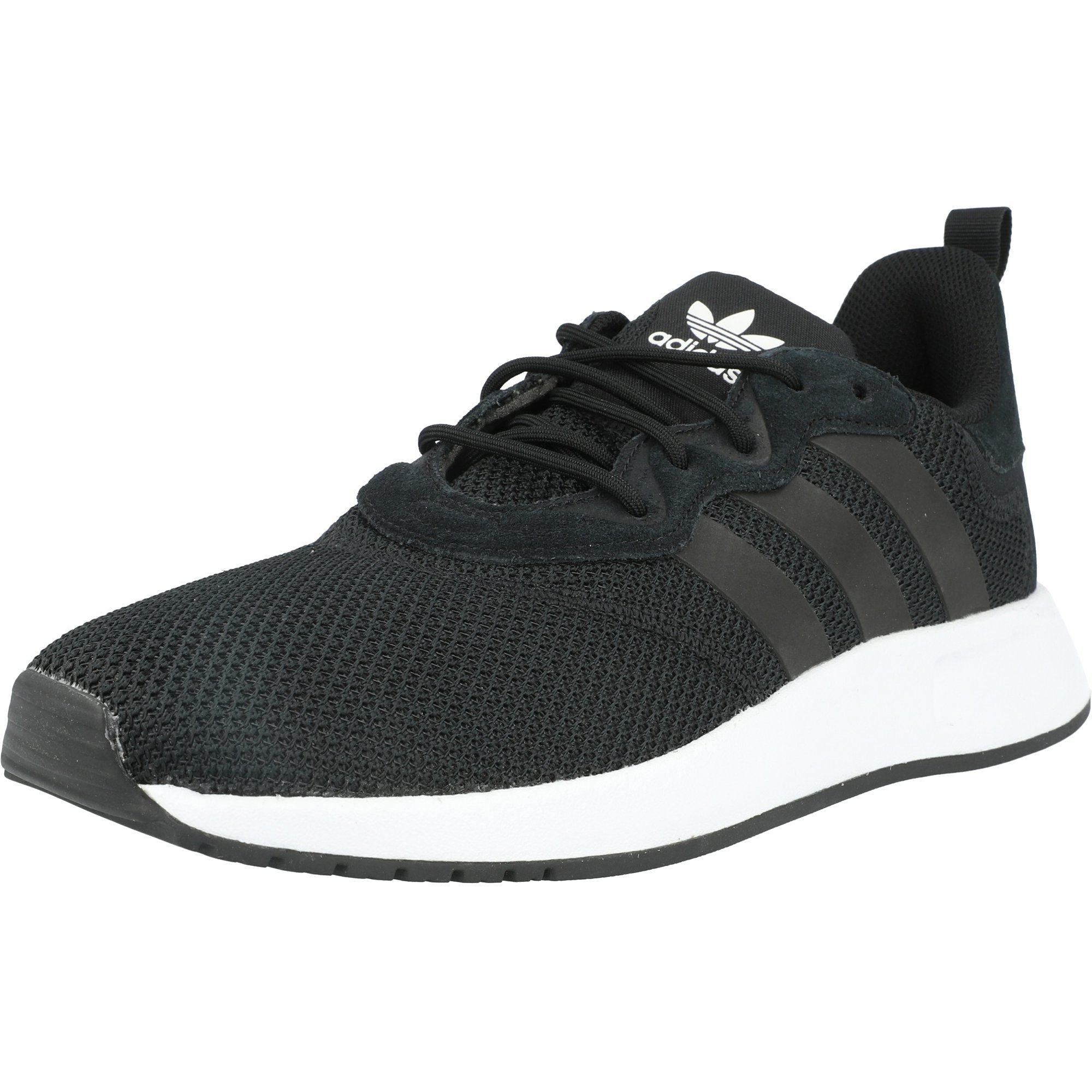 adidas black mesh trainers