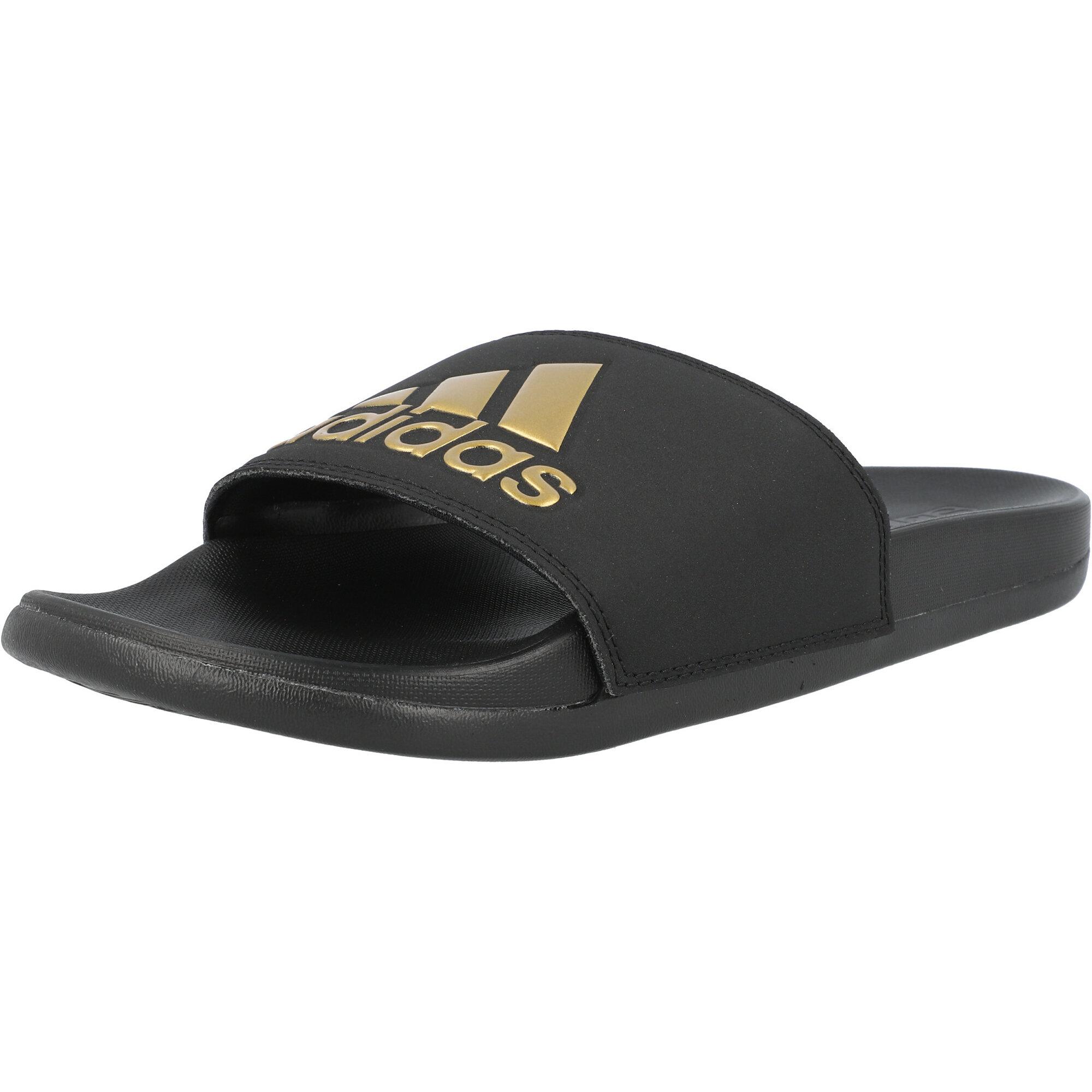 adidas adilette Comfort Black/Gold Metallic Synthetic