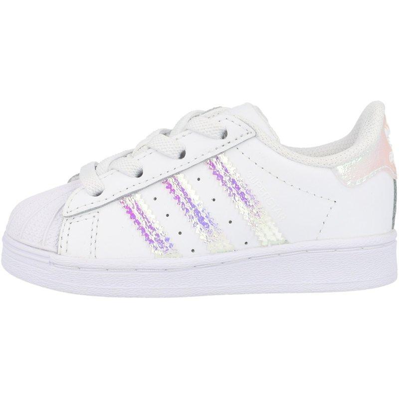 adidas Originals Superstar EL I White/Iridescent Leather