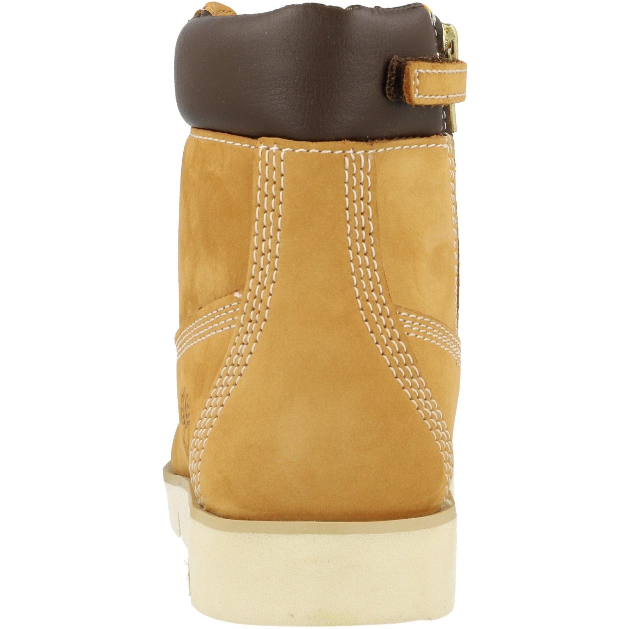 39 Tirmberland Radford 6 In Side Zip Junior Boots Nubukleder Wheat Gr