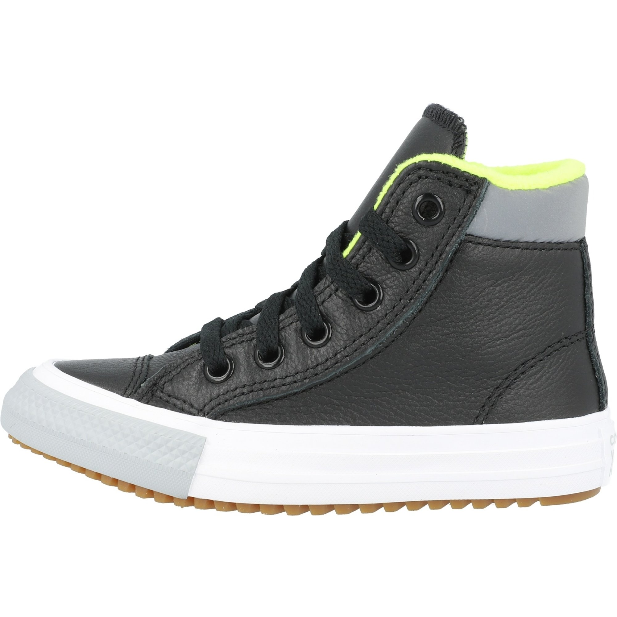 Converse Chuck Taylor All Star PC Boot Hi Utility Leather Black/Ash Stone Leather