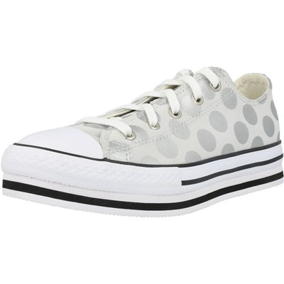Chuck Taylor All Star EVA Lift Glitter Shine Ox Junior childrens shoes
