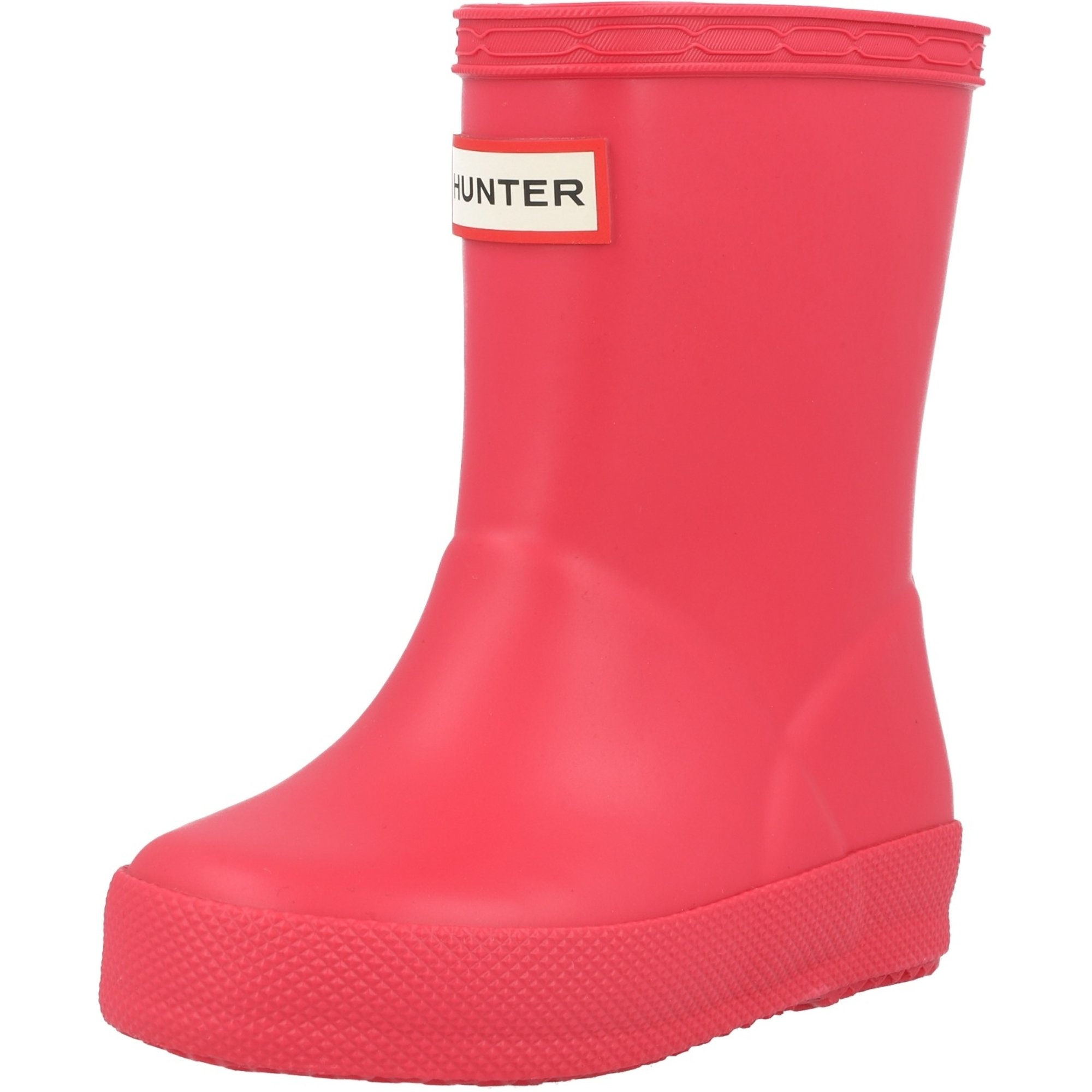 Hunter Kids First Classic Bright Pink Rubber