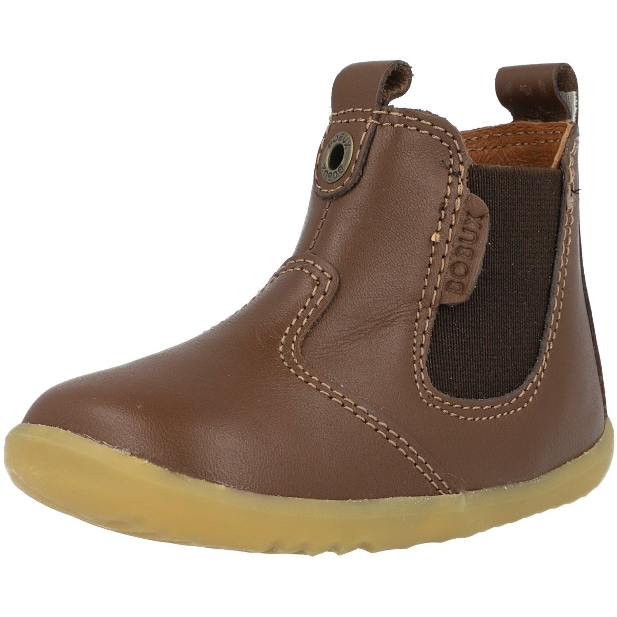 Bobux Step Up Jodhpur Toffee Leather