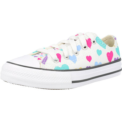 Chuck Taylor All Star Ox Always On Hearts Junior childrens shoes