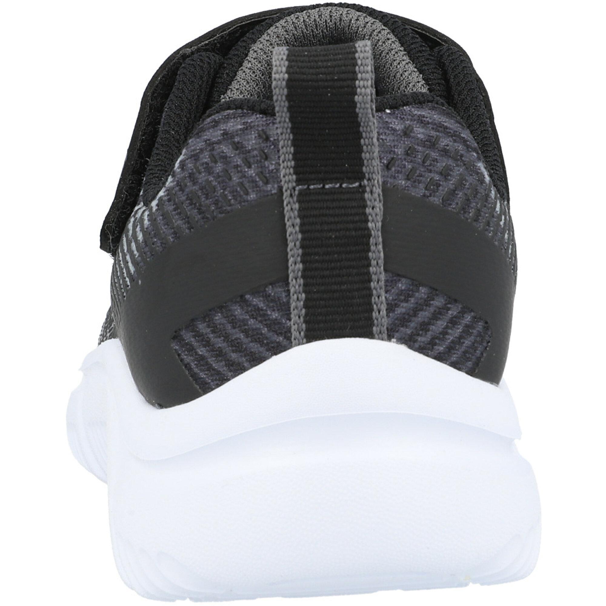 Skechers Go Run 650 Black/Gray Textile