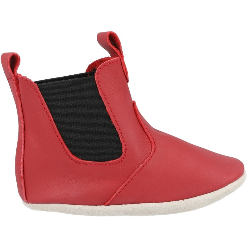 Bobux Soft Sole Jodhpur Red Leather