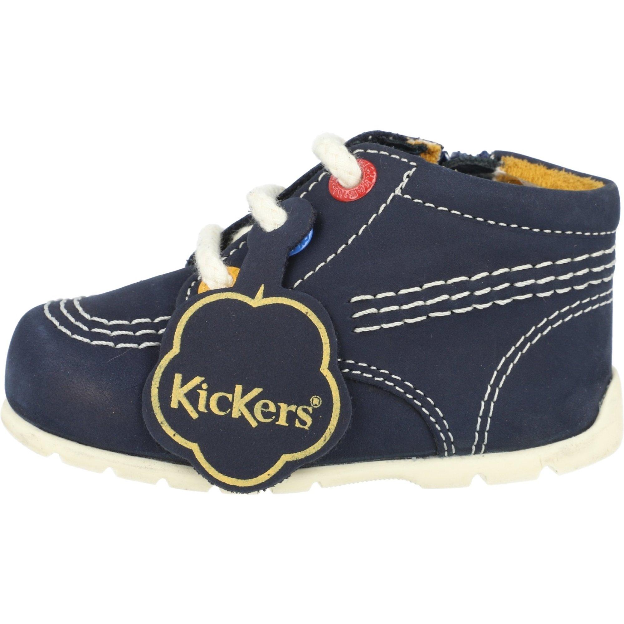 Kickers Kick Hi B Navy Nubuck