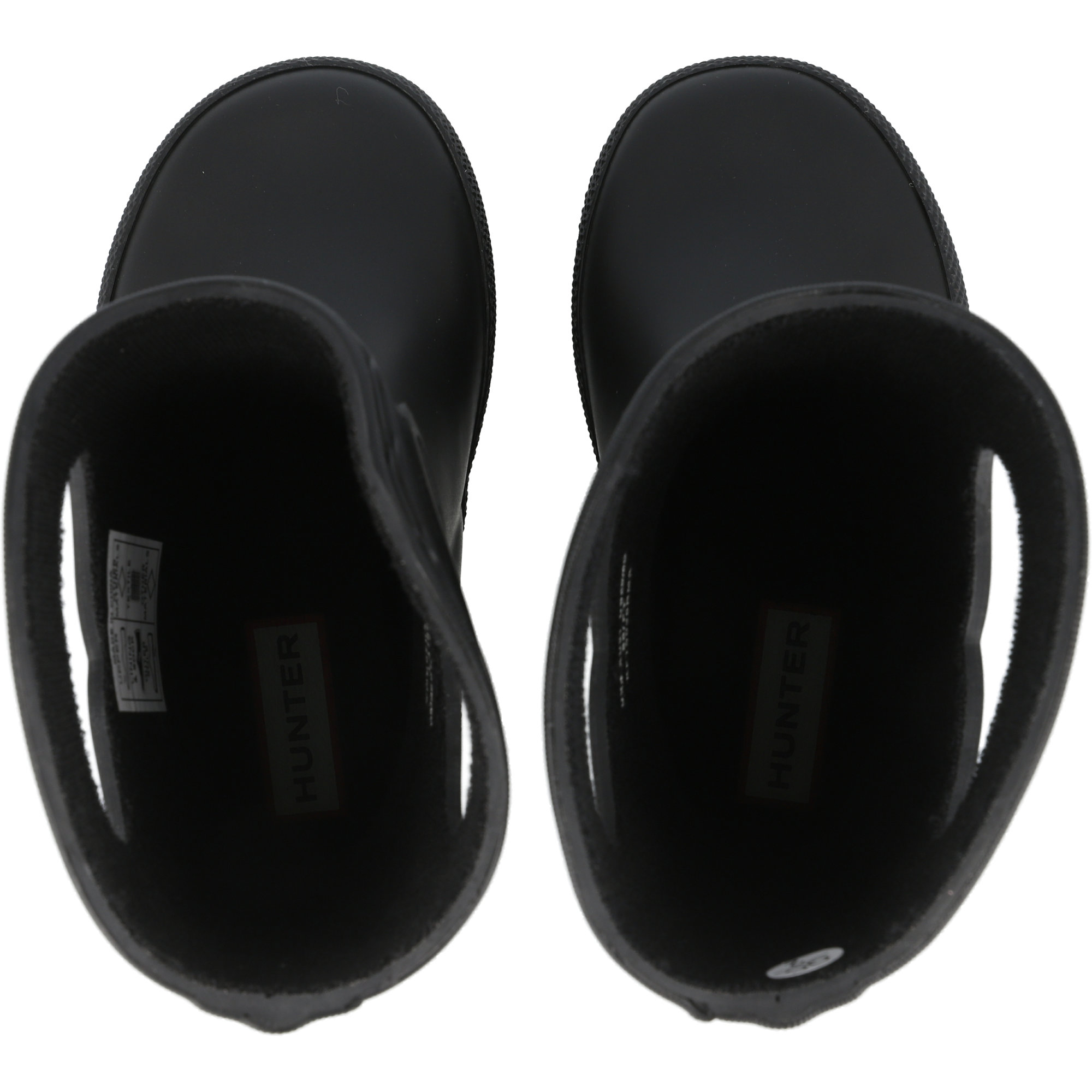 Hunter Kids First Classic Pull-On Black Rubber