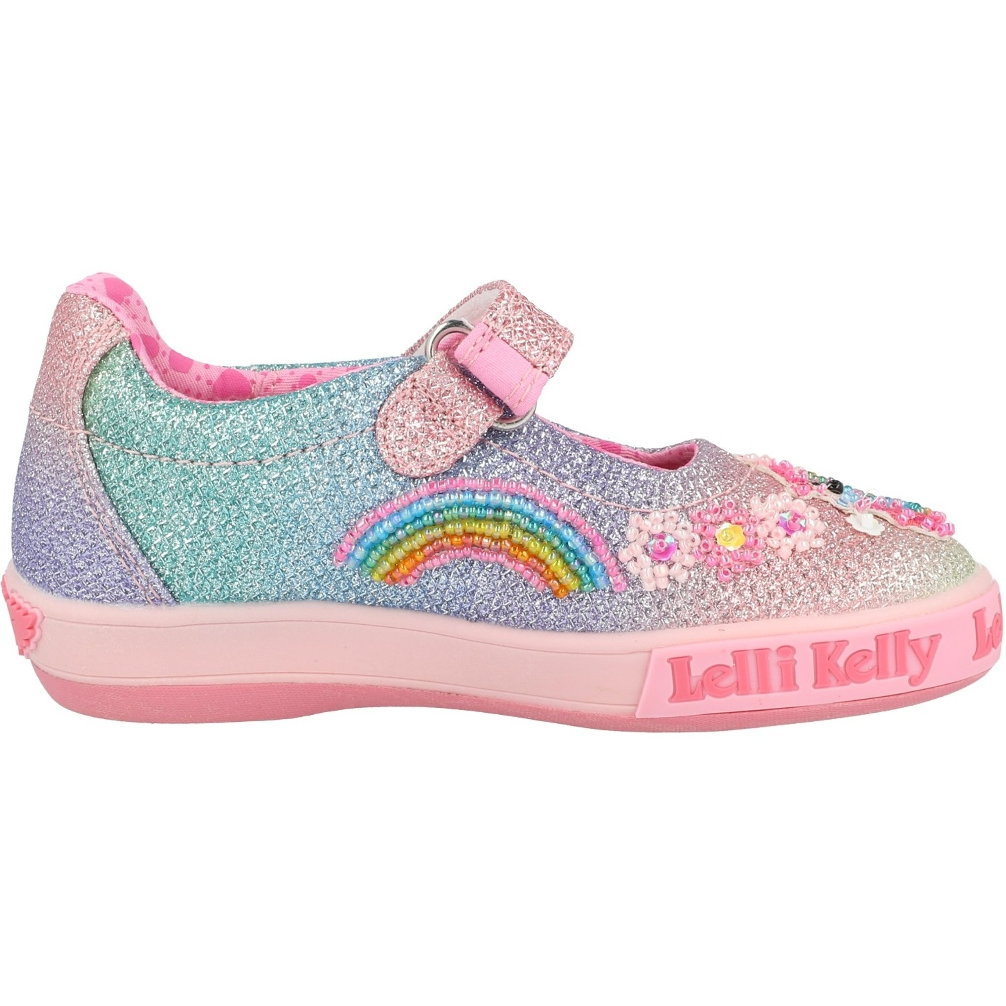 Lelli Kelly Rainbow Unicorn Dolly Multi