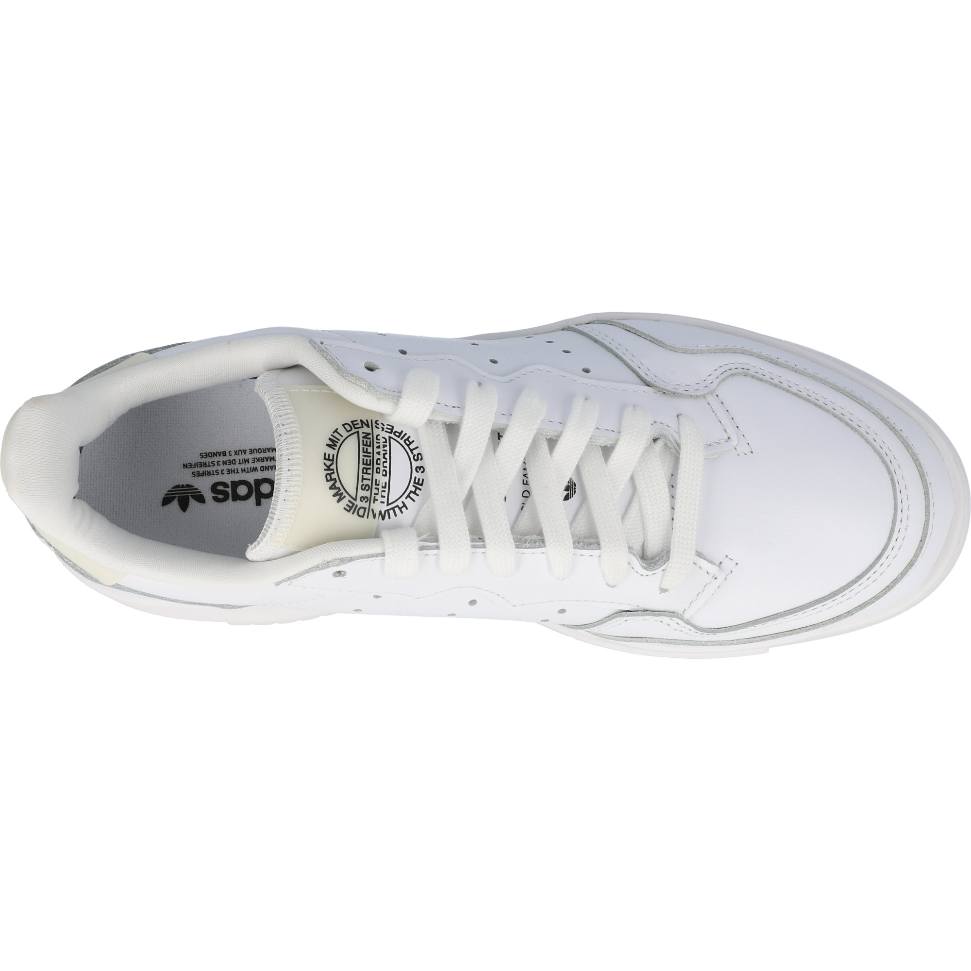 adidas Originals Supercourt W White/Core Black Leather