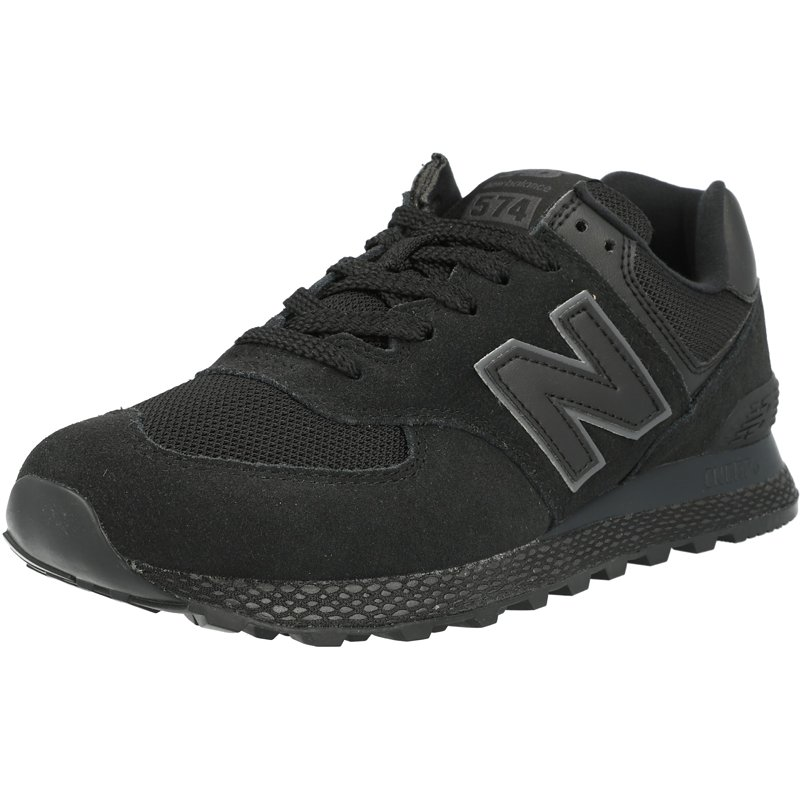 New Balance 574 Black Suede Adult Trainers Shoes | eBay