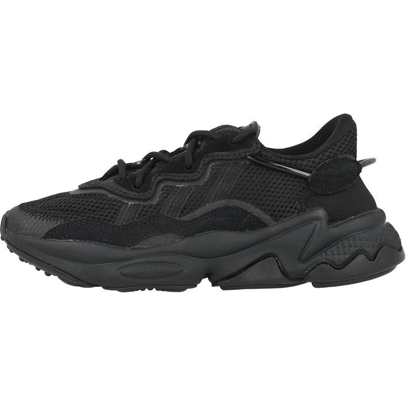 adidas Originals Ozweego J Core Black/Trace Grey Metallic Textile