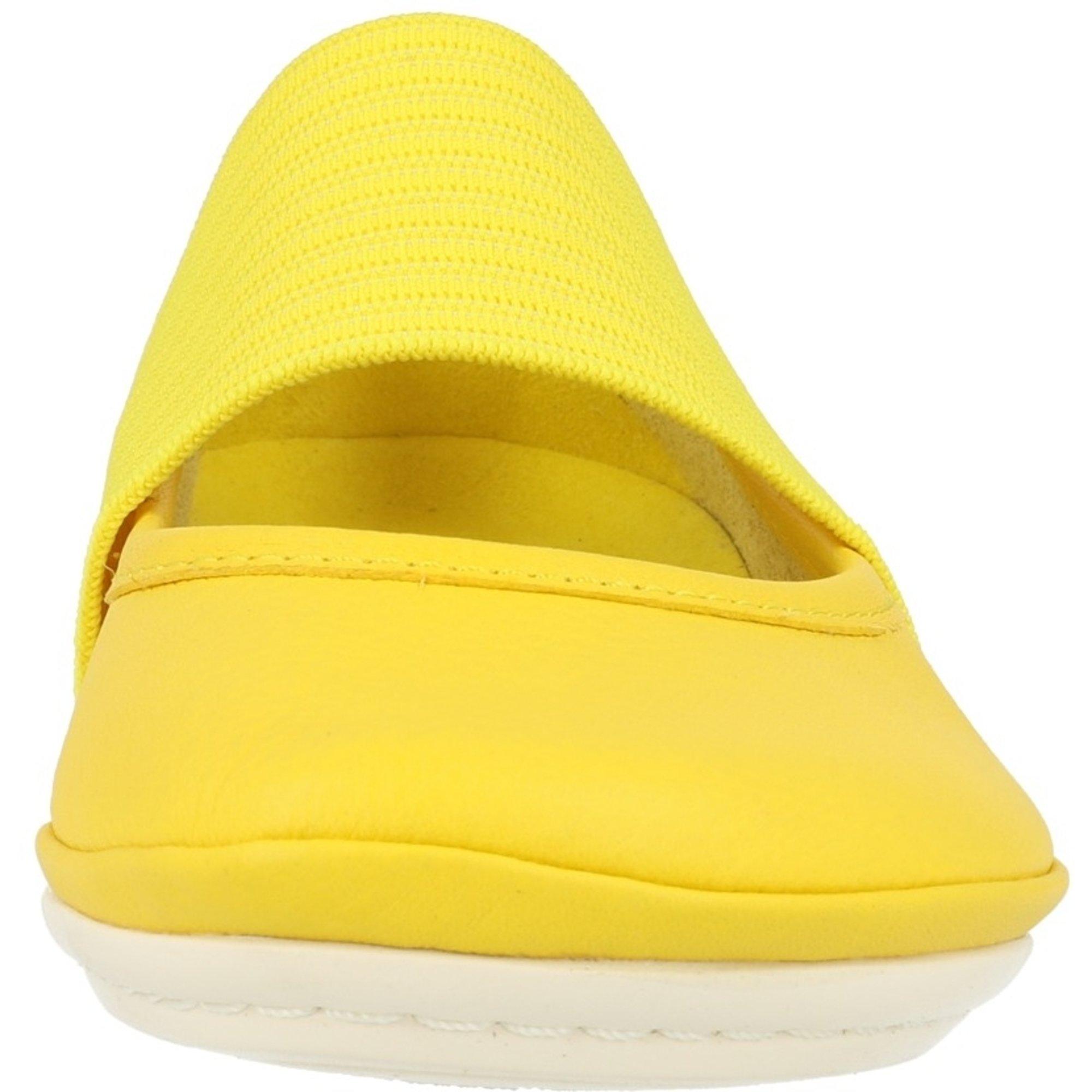 Camper Right Medium Yellow Leather