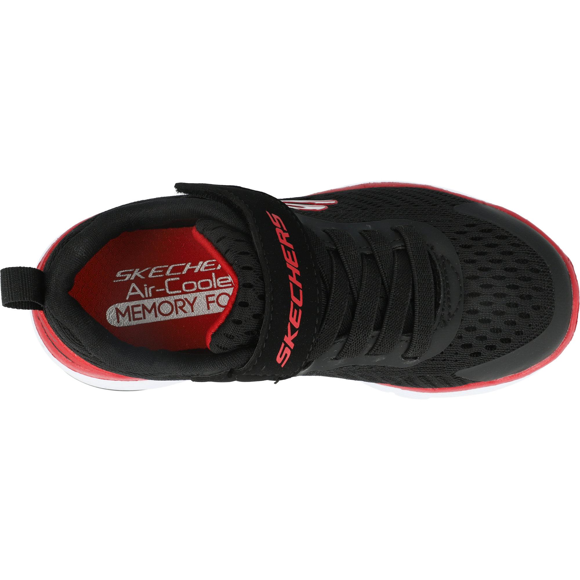 Skechers Flex Advantage 3.0 Black/Red Mesh
