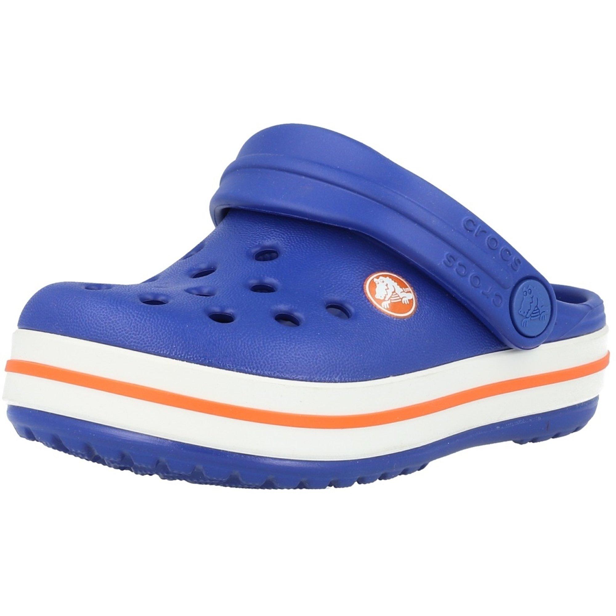 Crocs Kids Crocband Clog Cerulean Blue