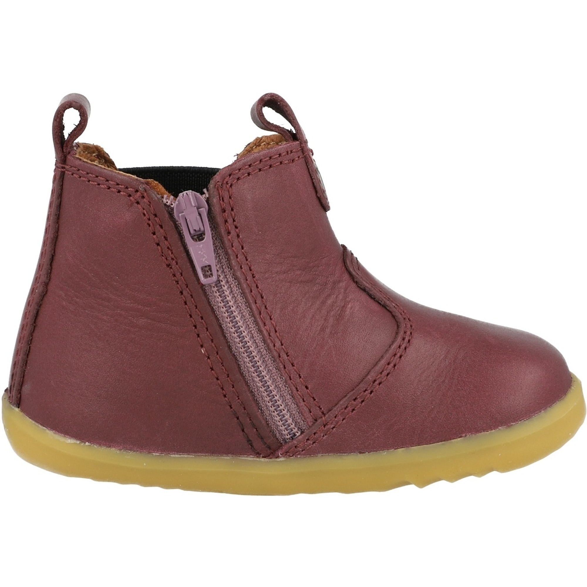 Bobux Step Up Jodhpur Plum Leather