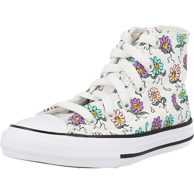 Chuck Taylor All Star Hi Friendly Floral Child childrens shoes