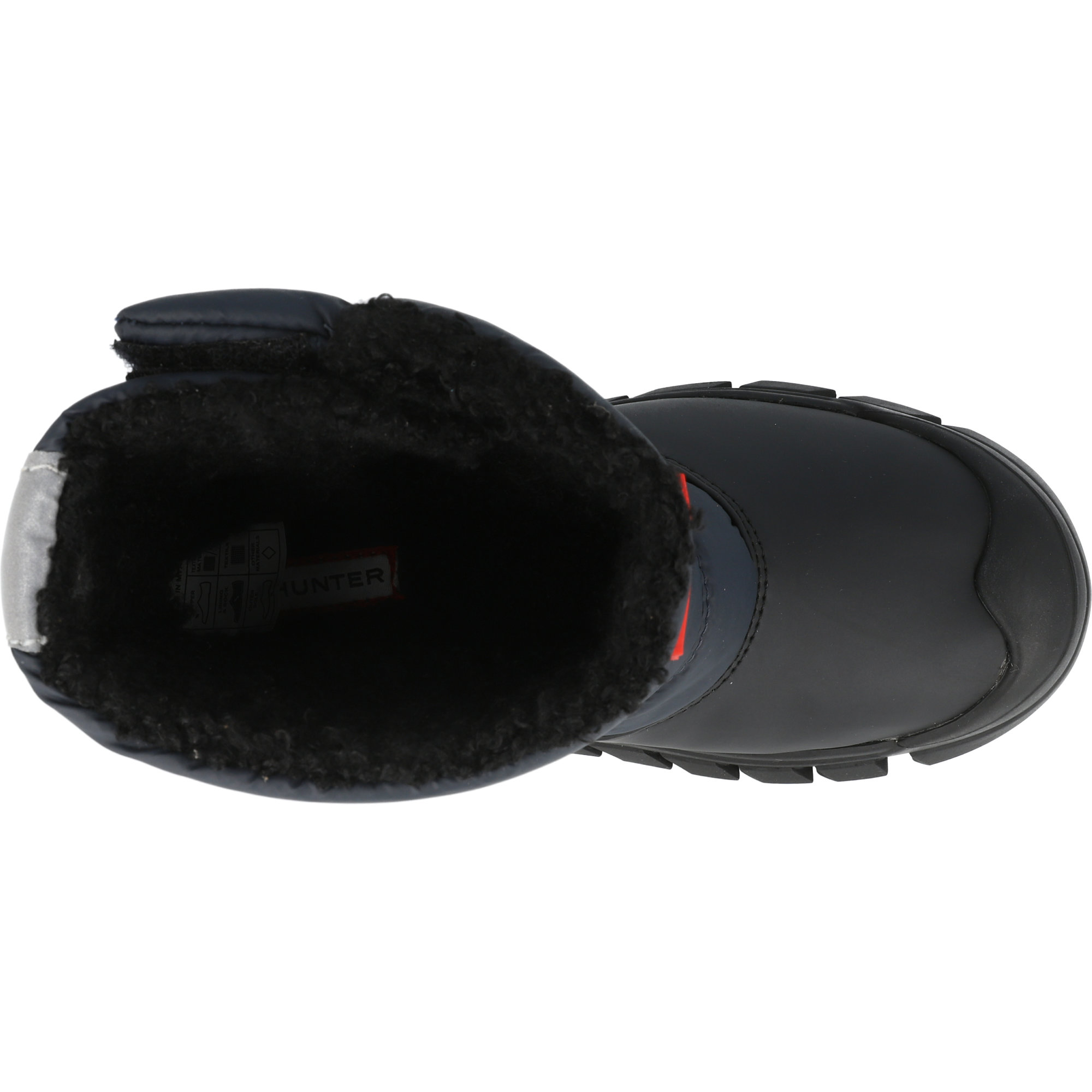 Hunter Original Kids Snow Boots Navy/Black Nylon