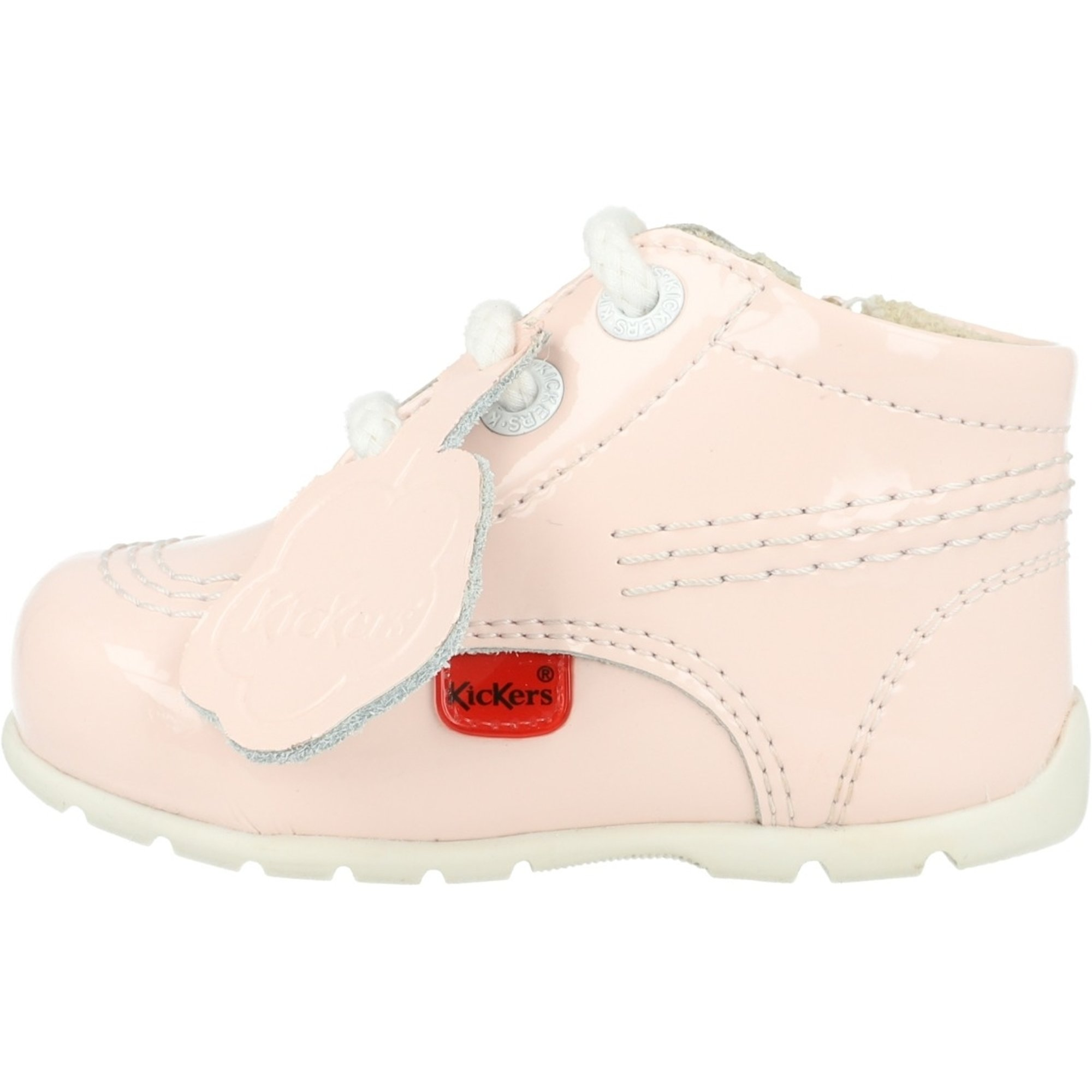 Kickers Kick Hi B Light Pink Leather