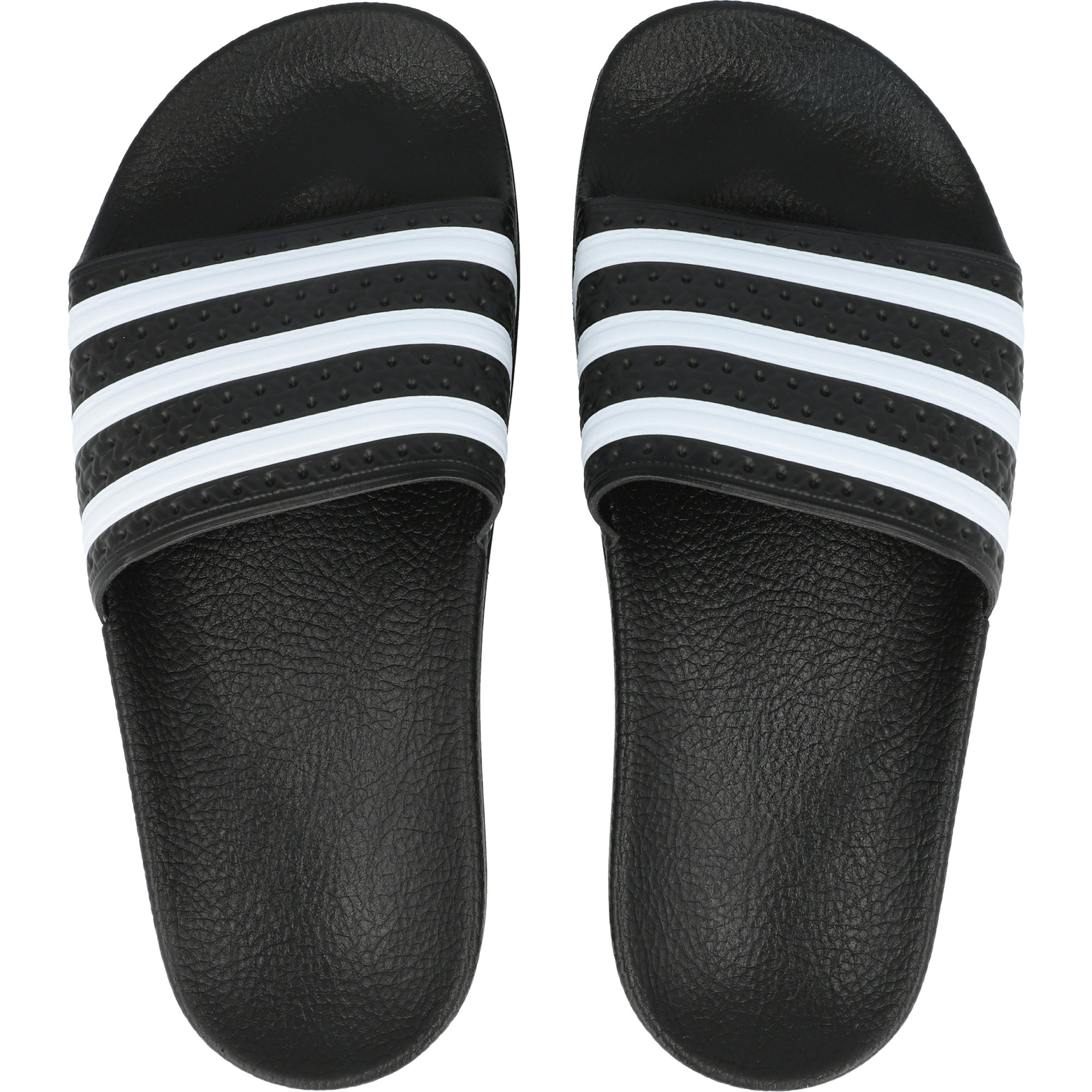 adidas Originals adilette Core Black/White Synthetic