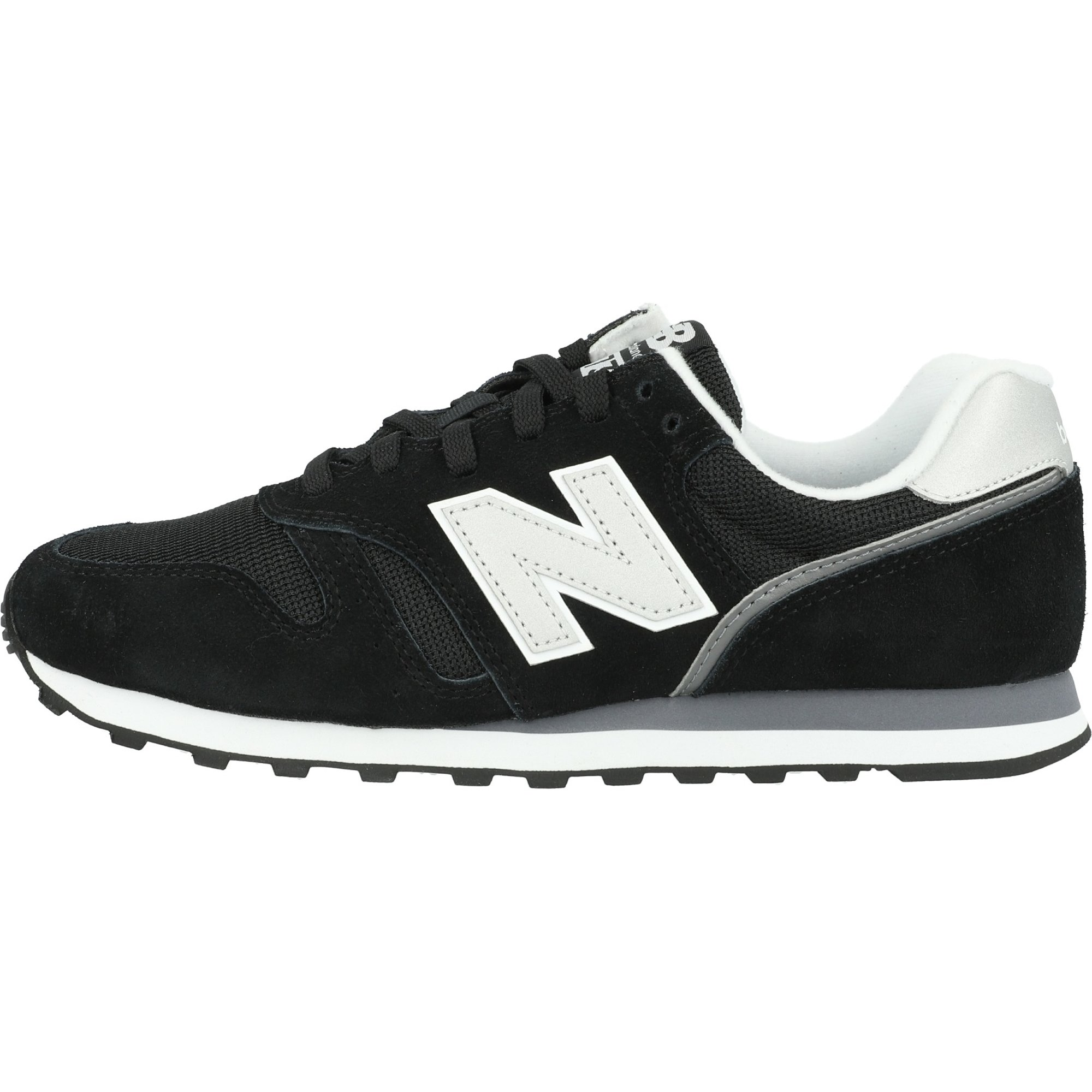 New Balance 373 Black/White Suede