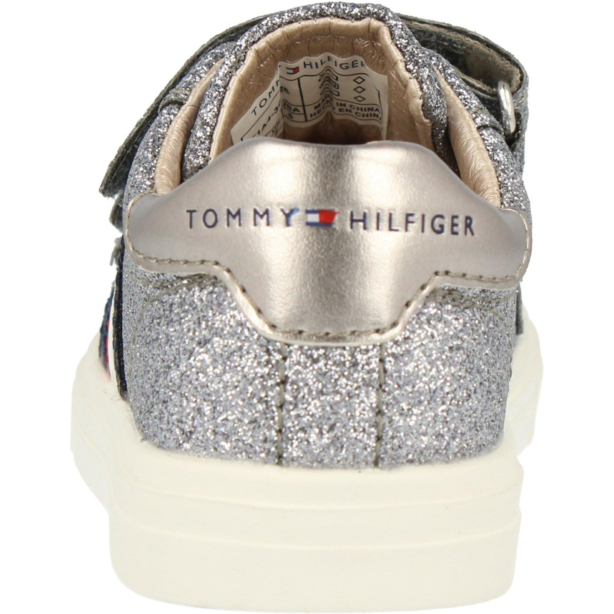 Tommy Hilfiger Trainer Dark Silver