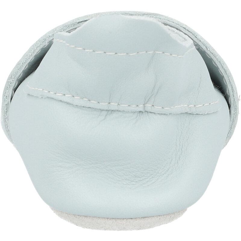 Bobux Soft Sole Aero Sky Grey Leather
