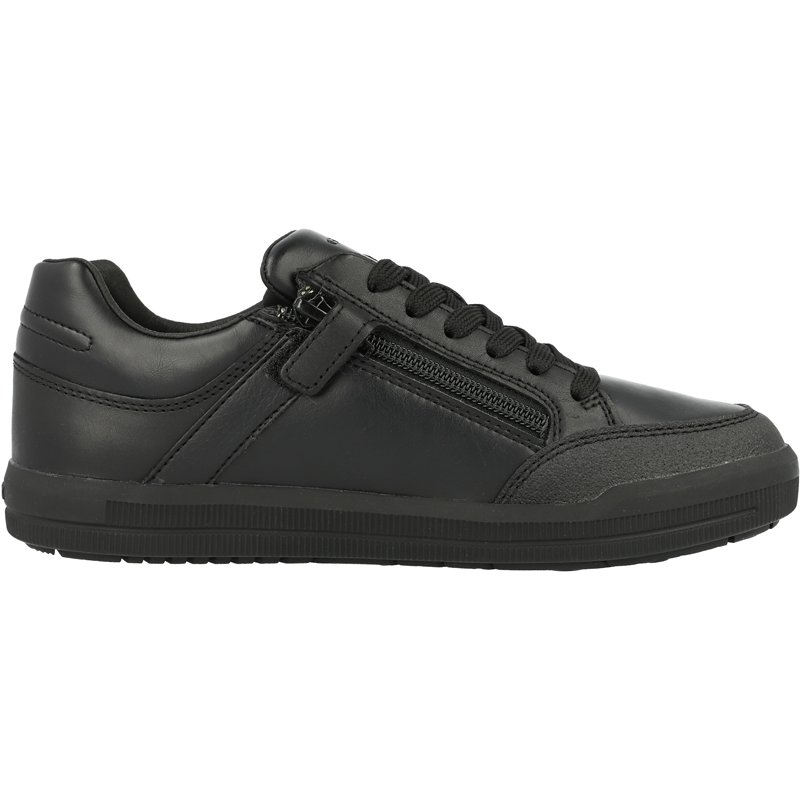 Geox J Arzach D Black Leather
