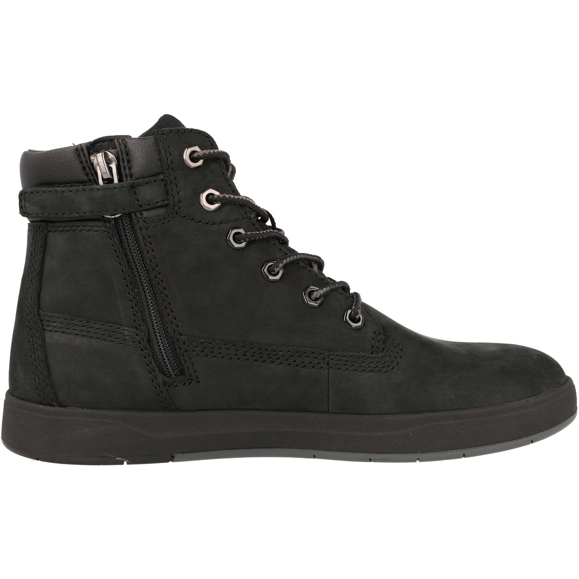 Timberland Davis Square 6 Inch Boot J Black Nubuck