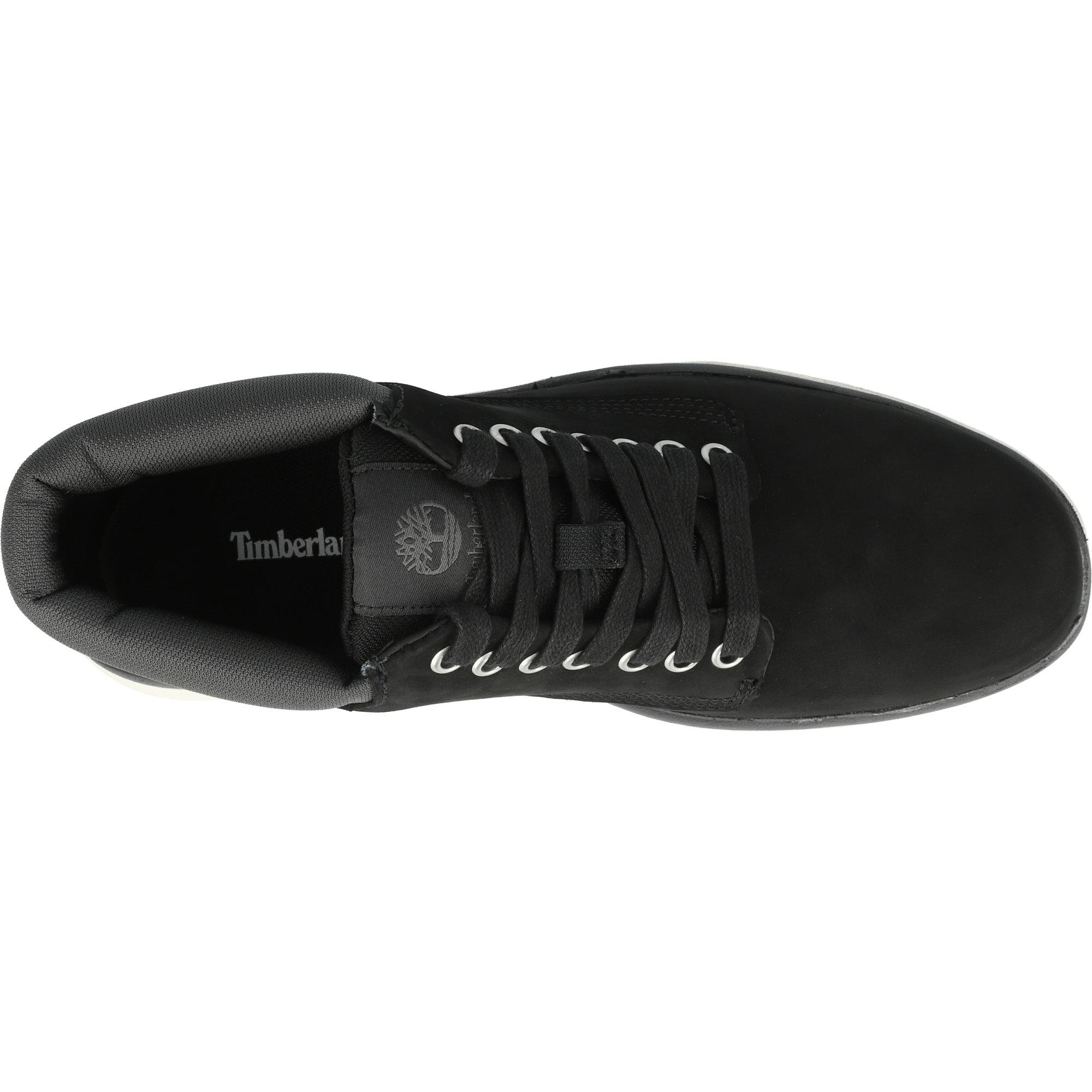 Timberland Bradstreet Leather Chukka Black Nubuck