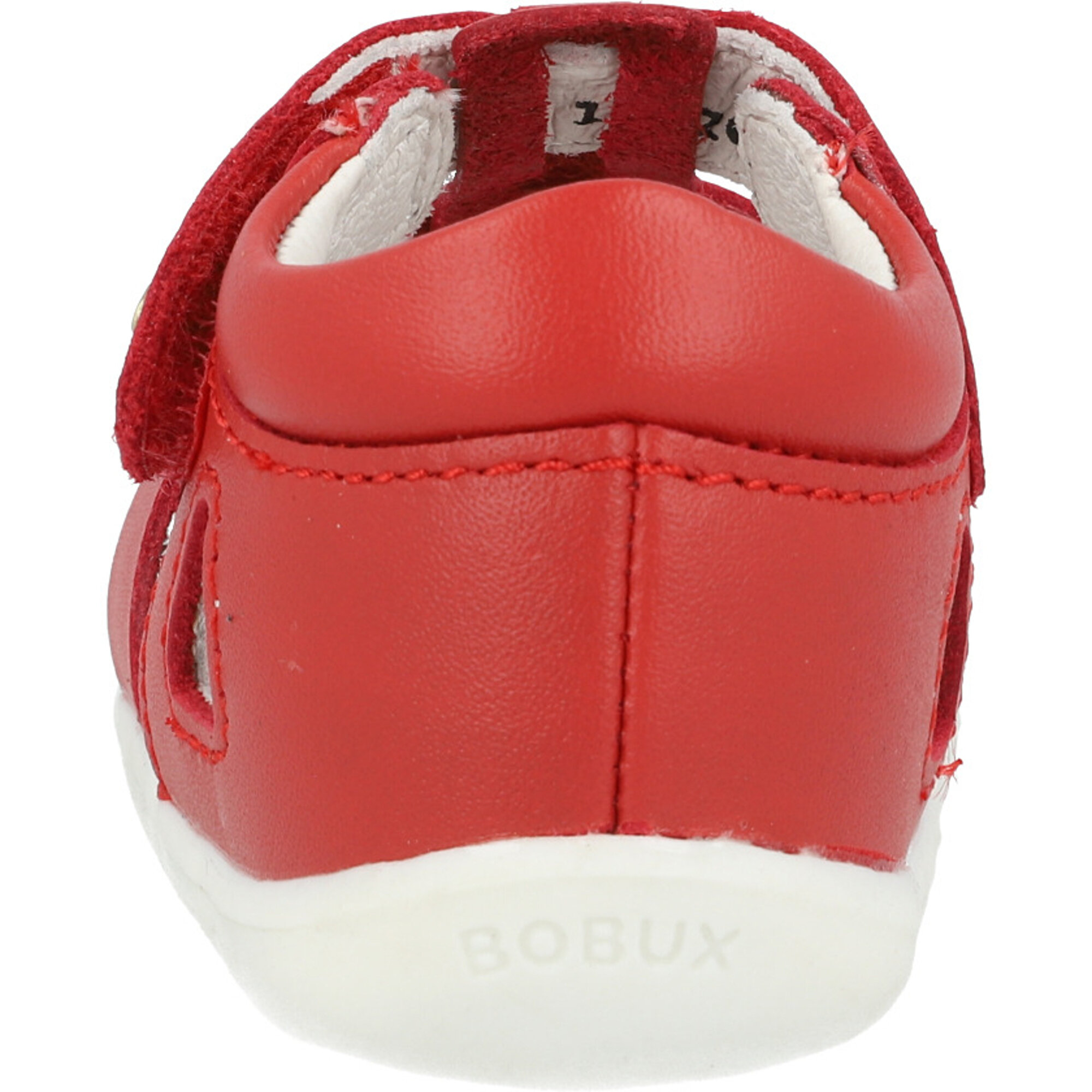 Bobux Step Up Tidal Red Quickdry Full Grain Leather