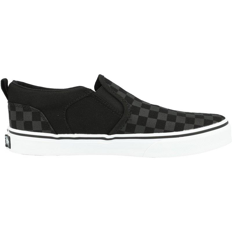 Vans Active YT Asher Black Checker Textile