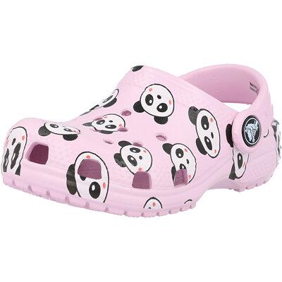 Kids Classic Panda Print Clog Infant childrens shoes