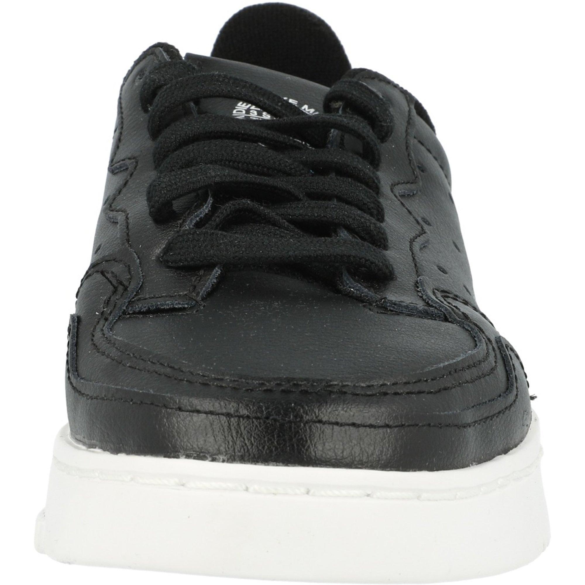 adidas Originals Supercourt J Black/White Leather